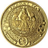 Nejkrásnější medailon II. - Královská pečeť zlato Proof