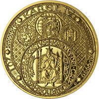Nejkrásnější medailon III. Císař a král - 2 Oz zlato Proof