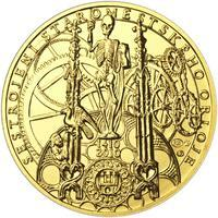 b.k. - Pražské dukáty - 10 dukát - Staroměstský orloj Au