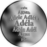 Česká jména - Adéla - stříbrná medaile