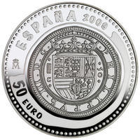 2009 Jewels of Numismatics - Cincuentín 1609 Ag Proof