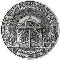 Dušan Samuel Jurkovič ( 60 let od jeho úmrtí ) - stříbro patina