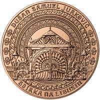 Dušan Samuel Jurkovič ( 60 let od jeho úmrtí ) - 1 Oz b.k. Měď
