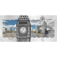 2017 Cook Islands - Skyline Dollar Foil - London - Ag