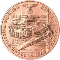 Vpád německých vojsk - 15. březen 1939 - 1 Oz Měď b.k.