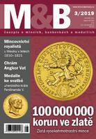 časopis Mince a bankovky č.3 rok 2019