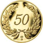 Medaile k životnímu výročí