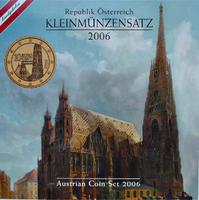 Oběhové mince 2006 Unc. Rakousko