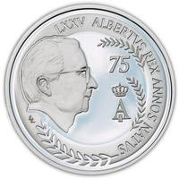 2009 75th Anniversary of King Albert II Ag Proof