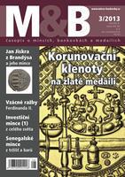 časopis Mince a bankovky č.3 rok 2013