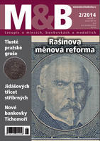 časopis Mince a bankovky č.2 rok 2014