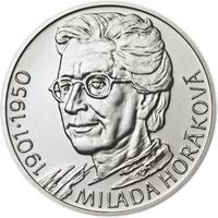 Milada Horáková - stříbro malá b.k.