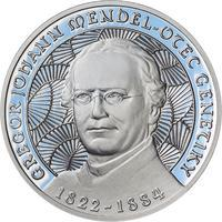 Johan Gregor Mendel - stříbro Proof