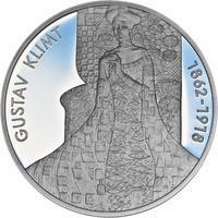Gustav Klimt - stříbro Proof
