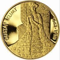 Gustav Klimt - zlato Proof