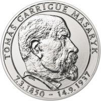 70 let od úmrtí Tomáše Garrigue Masaryka - stříbro b.k.