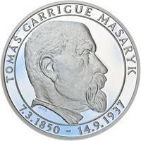 Proof - 70 let od úmrtí Tomáše Garrigue Masaryka - stříbro Proof