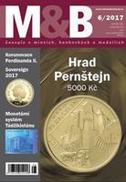 časopis Mince a bankovky č.6 rok 2017