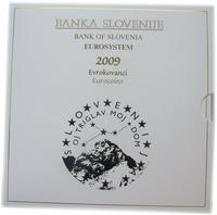 Oběhové mince Slovinsko 2009 Unc.