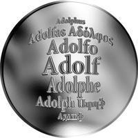 Česká jména - Adolf - stříbrná medaile