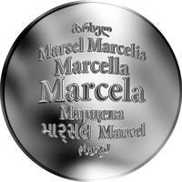 Česká jména - Marcela - stříbrná medaile