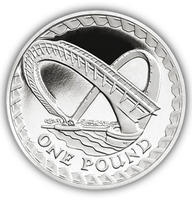 2007 - 1 Pound Millennium Bridge Proof