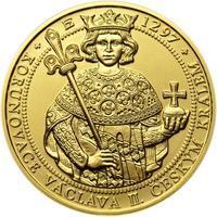 Korunovace Václava II. českým králem - zlatá Oz - b.k.