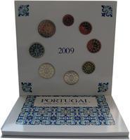 Sada mincí Portugalsko 2009 Unc
