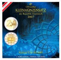 Oběhové mince 2007 Unc. Rakousko