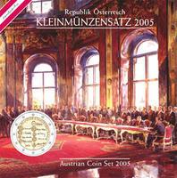 Oběhové mince 2005 Unc. Rakousko