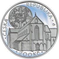 Mince ČNB - 2013 b.k. - 200 Kč  Založení klášteru Zlatá koruna