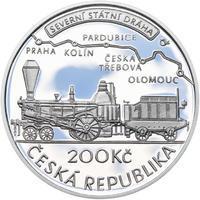 Mince ČNB - 2015 Proof - 200 Kč Jan Perner