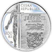 Mince ČNB - 2016 Proof - 200 Kč Jan Jessenius