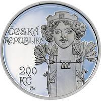 Mince ČNB - 2012 Proof - 200 Kč Postaven Obecní dům v Praze