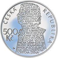 Mince ČNB - 2013 b.k. - 500 Kč Beno Blachut