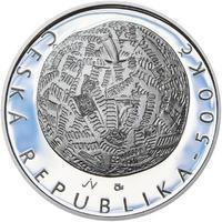 Mince ČNB - 2014 b.k. - 500 Kč Jiří Kolář