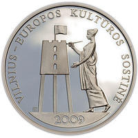 2009 Vilnius - European Capital of Culturre Silver Proof
