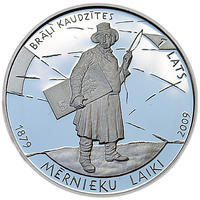 Times of the Land-Surveyors 2009 Silver Proof
