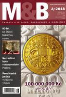 časopis Mince a bankovky č.3 rok 2018
