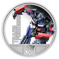 Transformers - Optimus Prime 1 Oz Ag Proof Tuvalu