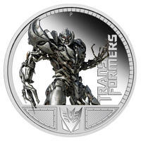 Transformers - Megatron 1 Oz Ag Proof Tuvalu