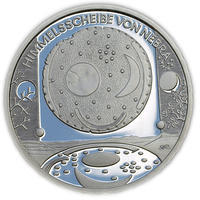 2008 Nebra Sky Disk Silver Proof 10 Eur