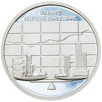 2007 Bundesbank Silver Proof 10 Eur