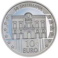 The Castellania Silver Proof 10 Eur Malta 2009
