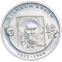 2007 Wilhelm Busch Silver Proof 10 Eur