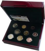Oběhové mince Luxembursko 2008 Proof