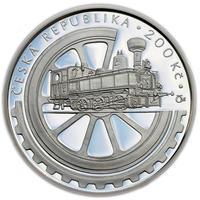 Mince ČNB - 2008 Proof - 100. výročí Založení Národního technického muzea