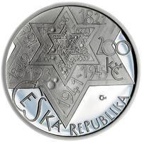 Mince ČNB - 2009 b.k. - 200 Kč 400 let úmrtí Rabí Jehuda Löw