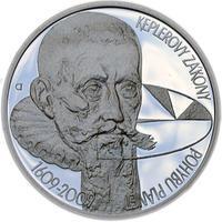 Mince ČNB - 2009 b.k. - 200 Kč 400 let Keplerovy zákony
