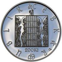 Mince ČNB - 2010 b.k. - 200 Kč 600. výročí sestrojení Staroměstského orloje